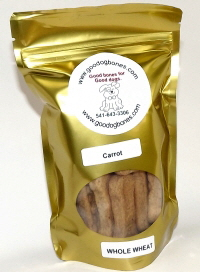 made in the USA carrot dog bone treats
