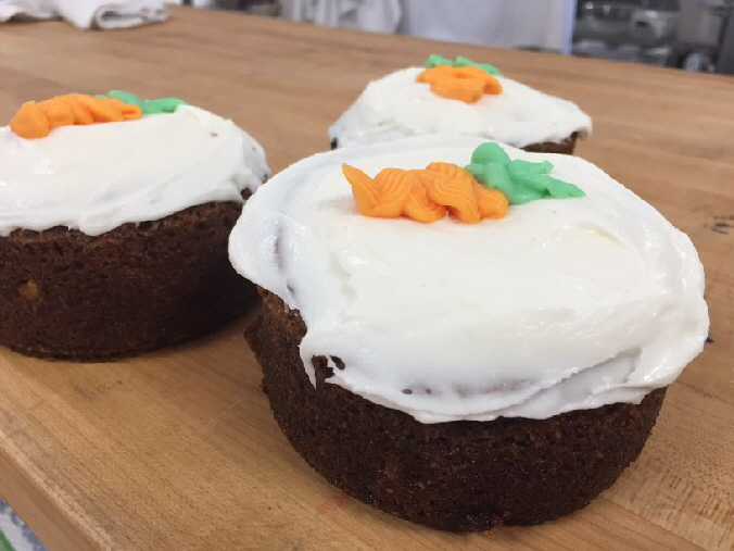 our carrot cake comes in 3 sizes for your convenience